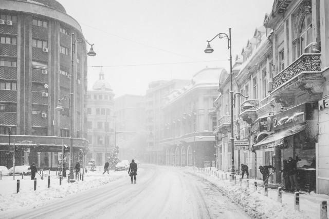 Iarna în București - Primele fotografii 18