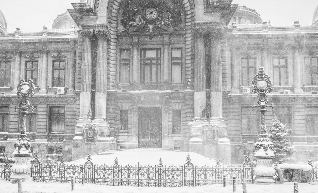 Iarna în București - Primele fotografii 19