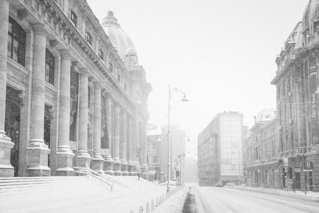 Iarna în București - Primele fotografii 20