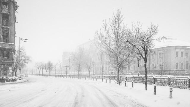 Iarna în București - Primele fotografii 21