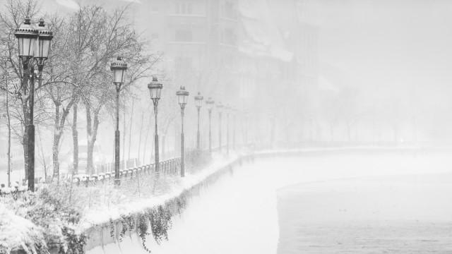 Iarna în București - Primele fotografii 22