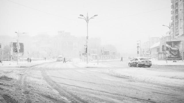 Iarna în București - Primele fotografii 28