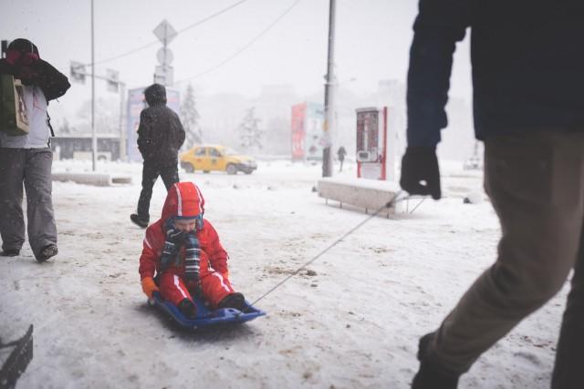 Iarna în București - Primele fotografii 29