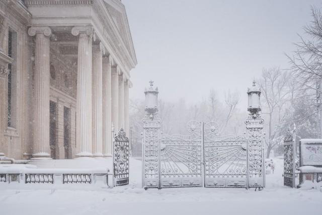 Iarna în București - Primele fotografii 8