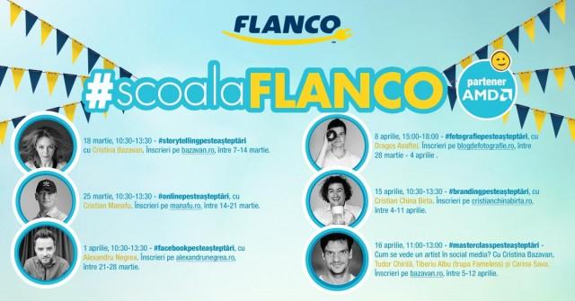 #ScoalaFlanco  Înscrie-te gratuit la workshop-ul de #FotografiePesteAsteptari