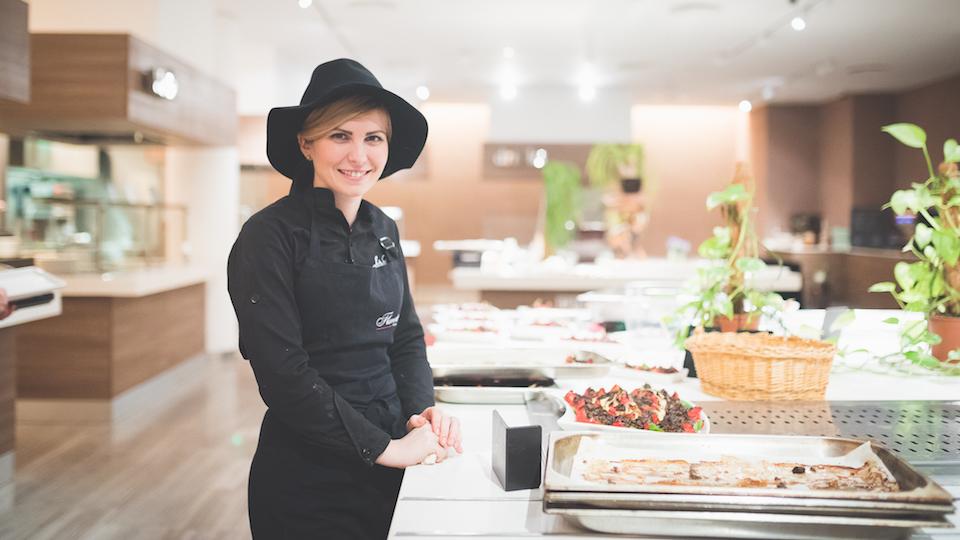 Claudia Sima la finalul internship-ului: În bucătărie nu trebuie să te dai bătut