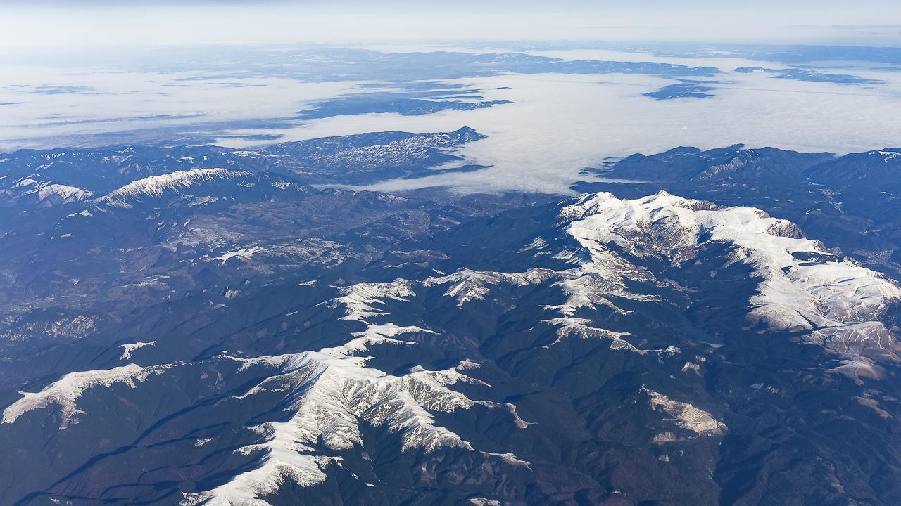 Geografie prin fotografie #1: Carpații Meridionali la început de iarnă