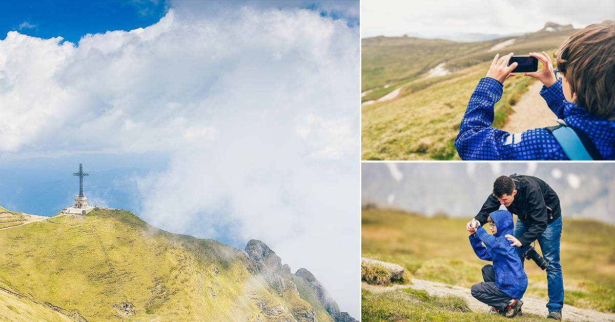 #JurnaldeFotograf cu David: Tur de-o zi pe Munții Bucegi